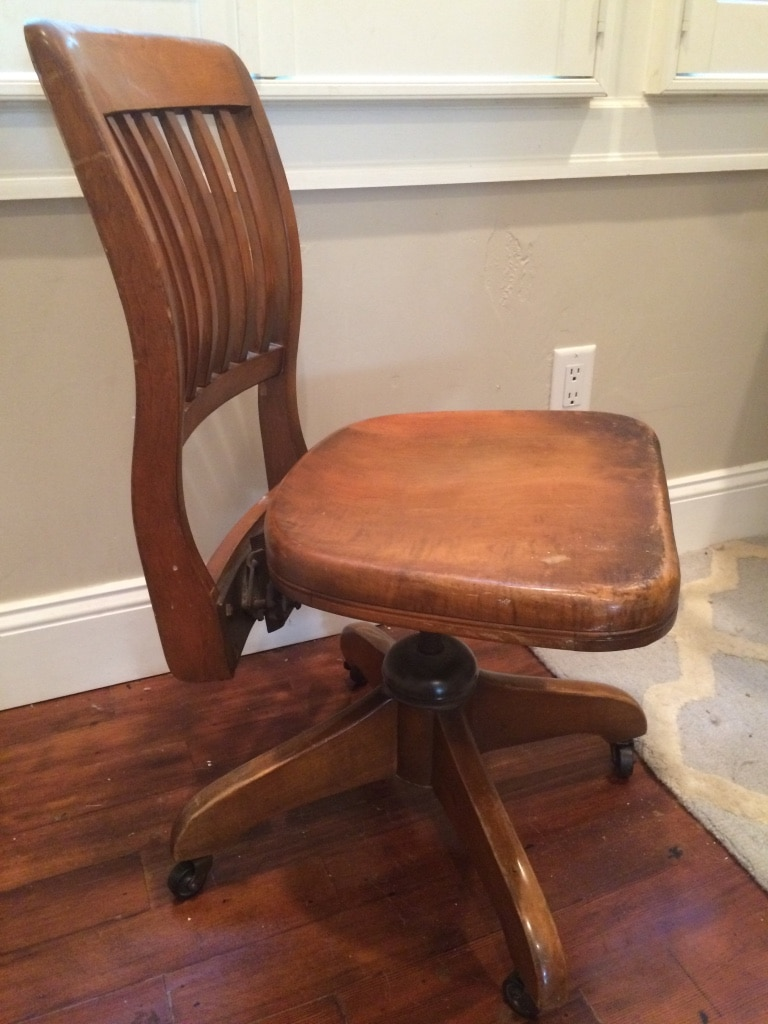 Antique Seng Chicago Bankers chair & Used Antique Seng Chicago Bankers chair for sale in San Jose - letgo