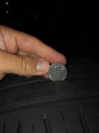 2 Volkswagen multi-spoke wheels and tires Grosse Pointe Park, 48230