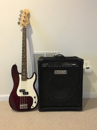 Fender Precision MX Bass Bristow, 20136