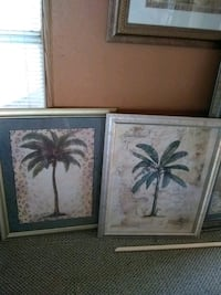 Two Palm tree paintings large Lubbock, 79407