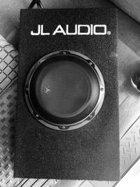 JL audio subwoofer with built in amp.