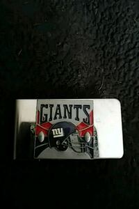 GIANTS STAINLESS STEEL MONEY CLIP