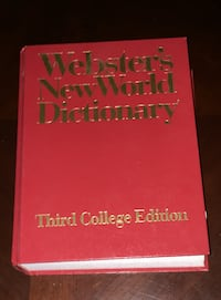 Webster's new world dictionary college edition