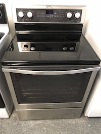 Whirlpool stainless steel stove with warranty  Woodbridge, 22192