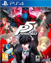Persona 5 PS4 spill plakat