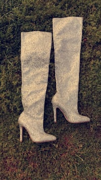 Rhinestone boots new-make us an offer ALBUQUERQUE