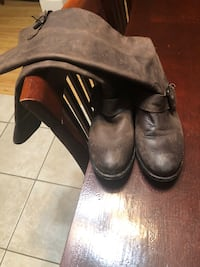 Dolce Vita Brown Leather Riding Boots 9.5 Terry, 39170