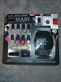 L.A colors dashing mani nail polish and nail dryer set pack 2360 mi