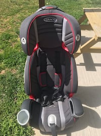 Graco red, black and gray toddler car seat with cup holder La Plata, 20646