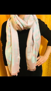 Burberry scarf in light pink shade  Edmonton
