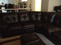 Brown sectional sofa Richmond, 23225
