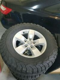 Ram 1500 wheels and tires Vancouver