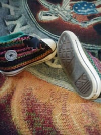 Toddler size 8 Converse shoes Early