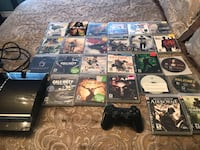 PS3 with 24 games. 200