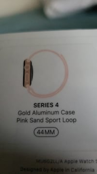 Apple Watch series 4 44mm size rose gold color. New still in the box Katy, 77494