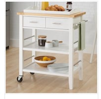 Trinity kitchen table cart trolley