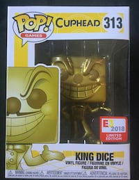 Cuphead E3 gold king dice pop Downey, 90242