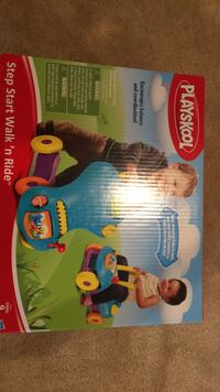 Playskool step start walk'n ride, new in box Leesburg, 20176
