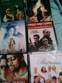 four assorted DVD movie cases Little Ferry, 07643