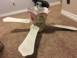 Princess ceiling fan