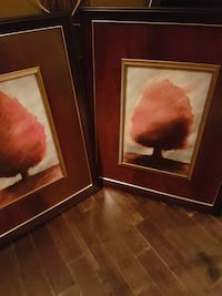 two LARGE  tree paintings IN BEAUTIFUL FRAMES Surrey, V3R 1B6