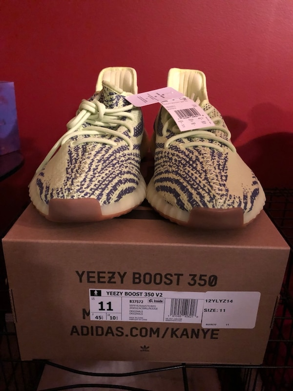 41b131fe2106a Used Yeezy Boost 350 V2 Semi Frozen Yellow for sale in Swedesboro ...