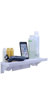 Brand new Suction Cup Wall Mounted Bathroom Shelf, Storage Rack