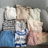 10 pieces of clothing for $10  Palmdale, 93550