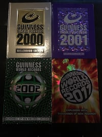 Guinness World Records Hardcover books 4 books Barrie, L4M 2M4