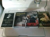 Hard cover books 3$ each or 10$ for all Phoenix, 97535
