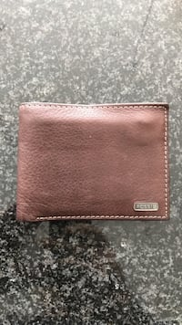 Brown leather fossil bifold wallet Kitchener, N2H