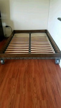 brown and white wooden bed frame New Rochelle, 10801
