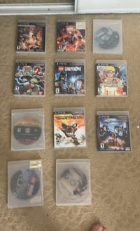 11 Play Station 3 video games
