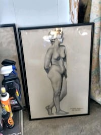 Hand sketch Nude Lady Council Bluffs, 51501