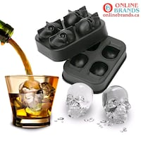 3D Skull Ice Cube | Online Brands | Free Shipping Mississauga, L5M 5Y2
