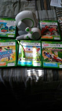 Leap Frog TV Game with 5 games