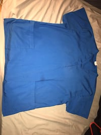 Scrub top. Size Large.  St. Charles, 60174