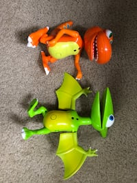 Dinosaur train Interactive talking toys Arlington, 22206