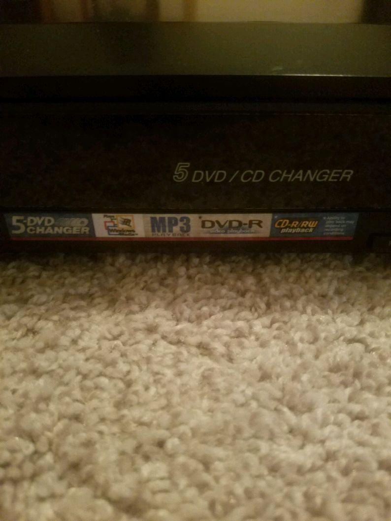 Photo Panasonic 5 DVD/CD changer with remote