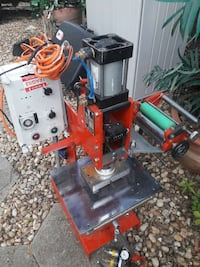 Used Press Heavy Duty Stamping Press Seeking Offers For