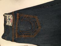 True Religion Jeans Barely Worn Size 38 Frederick