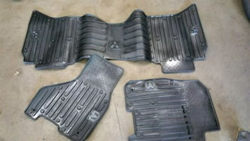 Great condition rubber mats
