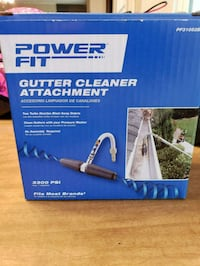 Brand New Power Fit Gutter Cleaner Attachment