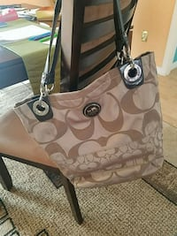 brown and black Coach monogram tote bag Clearwater, 33765