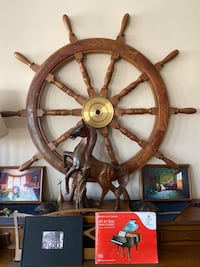 Large Ship's Wheel Chicago, 60645