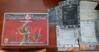Set of 3 Dungeons & Dragons board games