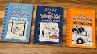 Diary of a Wimpy Kid (Books 2,6,9) Toronto, M3H 1L9