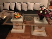 Versace style coffee table
