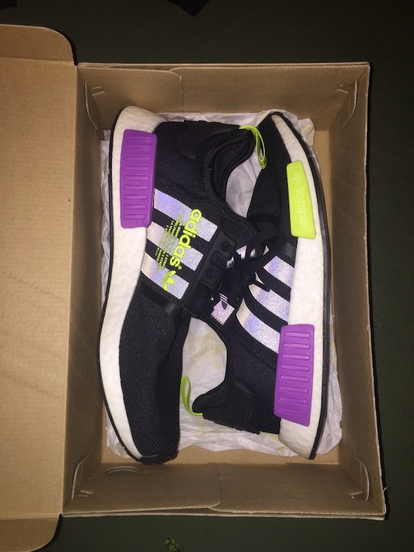 new style 0062a 015c9 NMD R1 Shock Purple