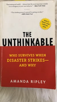 The Unthinkable book by Amanda Ripley